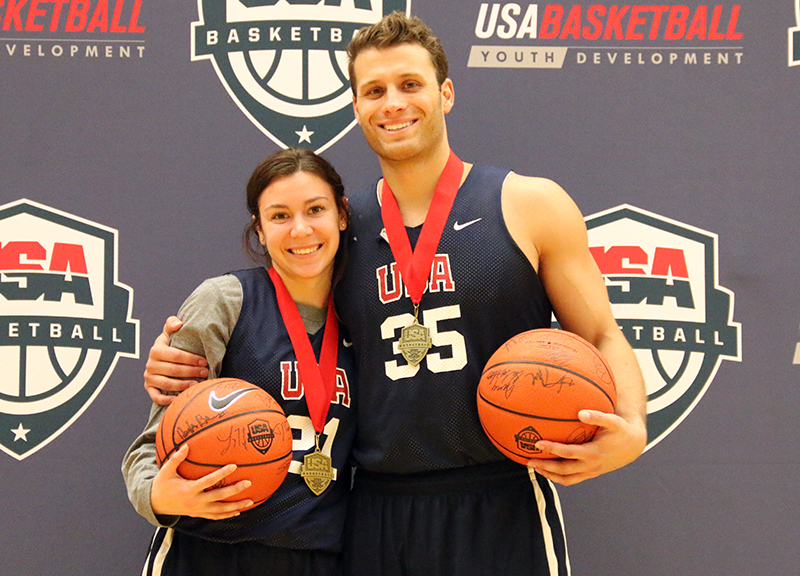 Dan Mavraides wins USA Basketball 3v3 Tournament