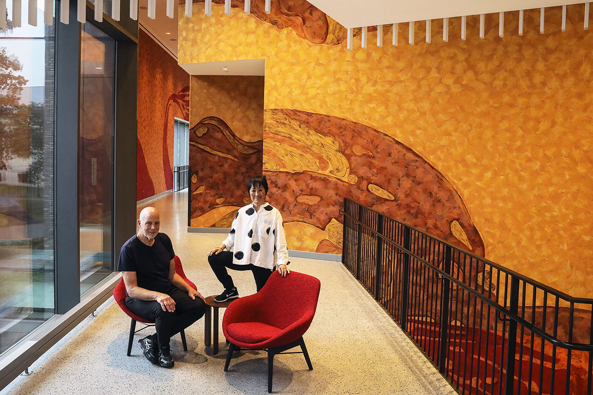 Tod Williams and Billie Tsien.