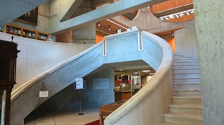 Academy Library Staircase