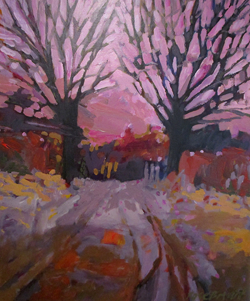 Lamont Gallery, Rose Bryant, Snow Streets