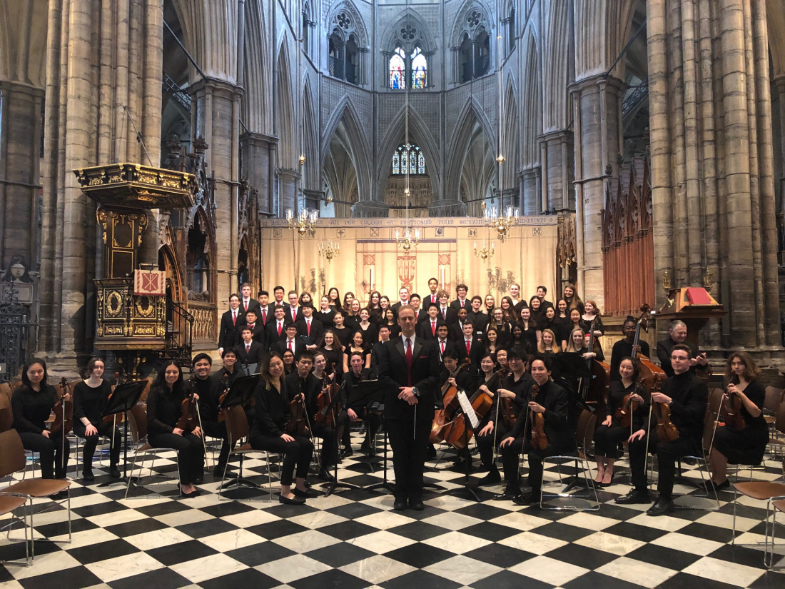 Exeter students perform at Westminster Abbey