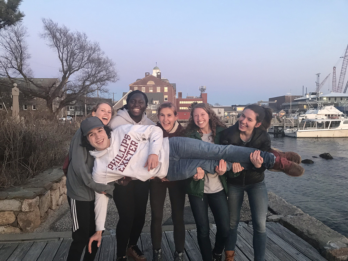 woods hole spring break
