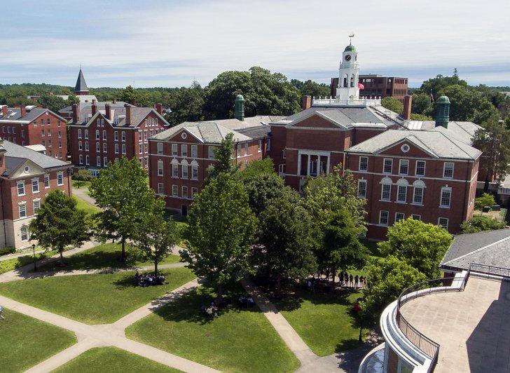 Academy Building and quad