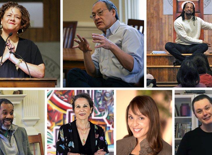 Elizabeth Alexander, Ilya Kaminsky, Jericho Brown, Arthur Sze, Natasha Trethewey, Julia Alvarez, Gregory Pardlo.