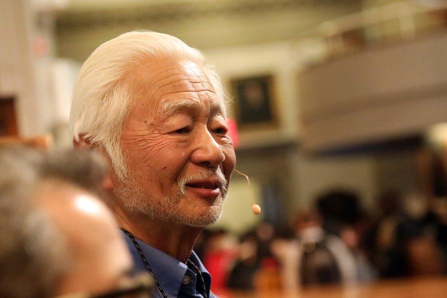 David Sakura in Assembly Hall.