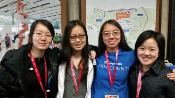 U.S. team European Girls' Mathematical Olympiad