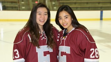 Phillips Exeter Academy Girls Hockey Seo Kwak Tammy Zhu