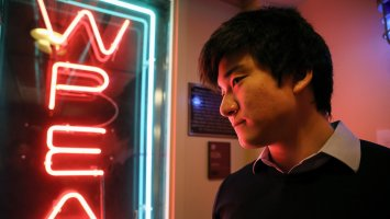 Matt Kang at WPEA.