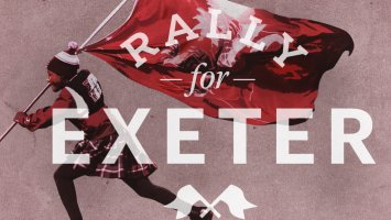 Rally for Exeter during the E/A Giving Challenge