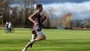 Will Coogan '20 running outdoors at Exeter