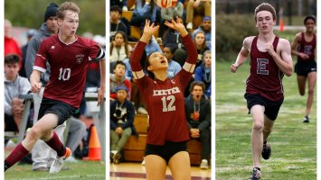 Billy Menken '20, Joy Liu '20 and Will Coogan '20 were among the students named by their coaches as most valuable players for their respective teams this fall.