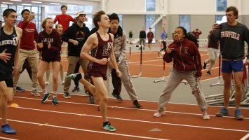 Will Coogan sprints to the finish line