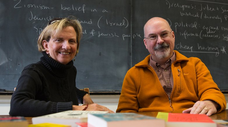 Kathy Brownback and John Blackwell