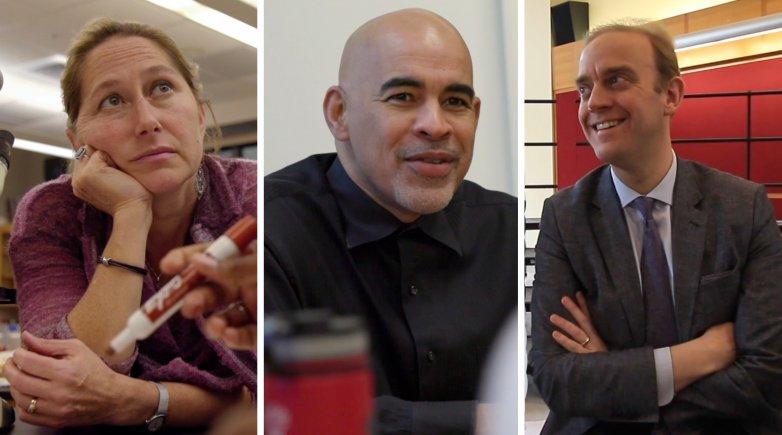 Michele Chapman, Willie Perdomo and Kris Johnson
