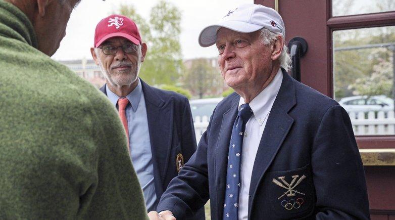 Bill Becklean (right).