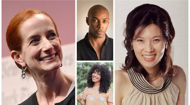 Vanessa Friedman, Casey Gerald, Elizabeth Acevedo and Sheryl WuDunn