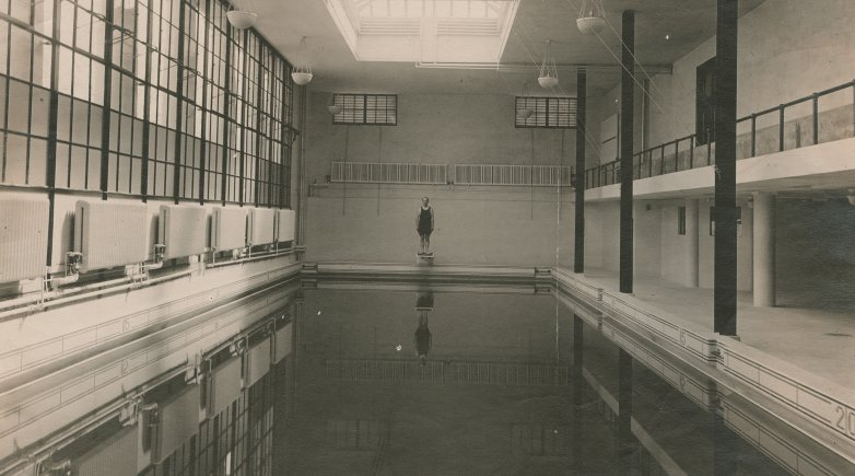 The pool at Thompson Gym