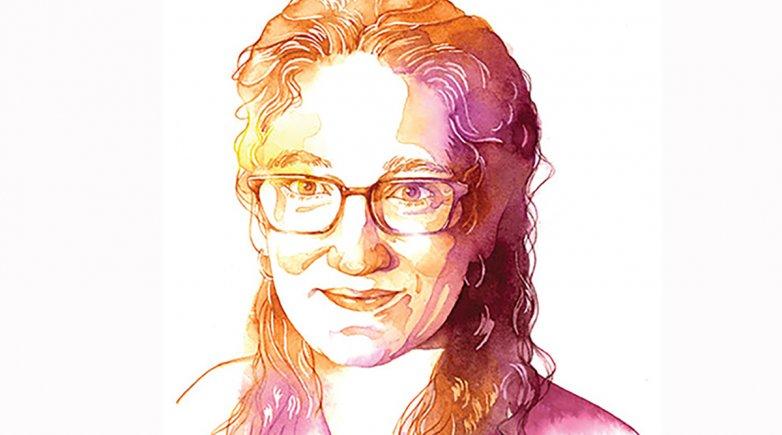 A sketch of Emma Wynn