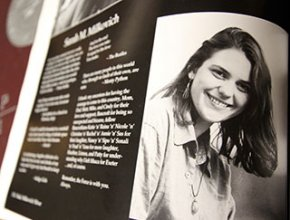 Sarah Yearbook Page