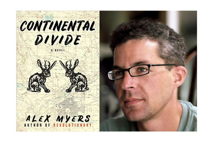 Author and English instructor Alex Myers