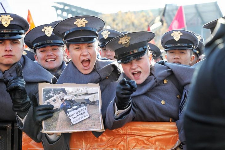 Exeter graduate Layne Erickson at West Point